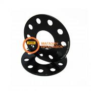 Проставка 5 мм pcd - 5120 dia - 74.1 чёрная
